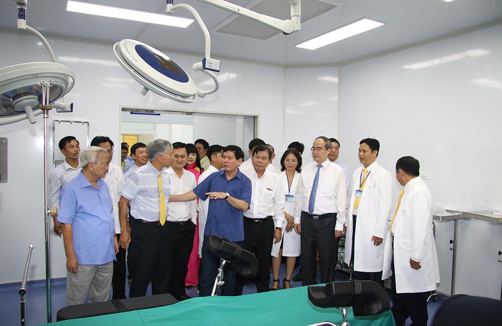 Khánh thành Bệnh viện Đại học Trà Vinh
