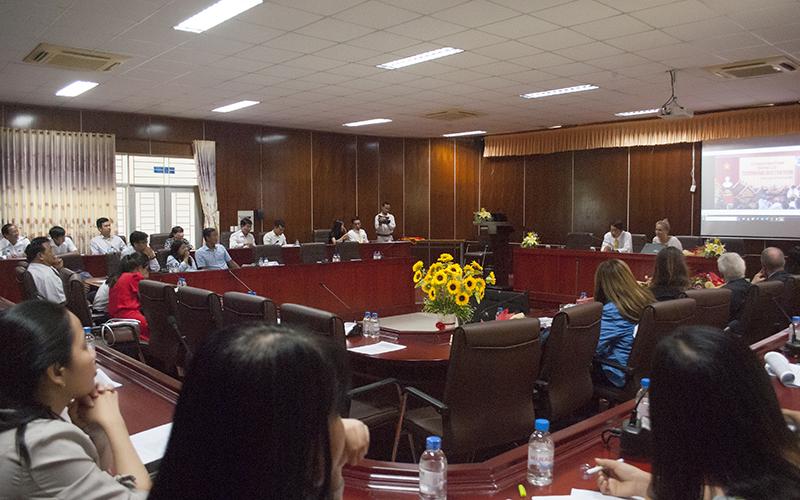 ĐH Trà Vinh: Bốn chương trình khối kinh tế đăng ký kiểm định chất lượng theo chuẩn FIBAA