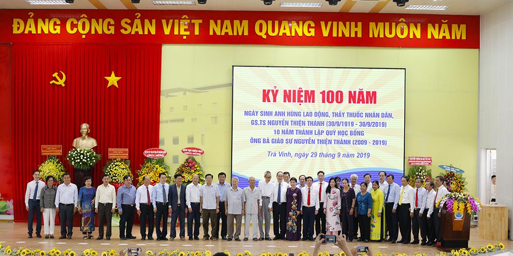 Kỷ niệm 100 năm ngày sinh AHLĐ, TTND GS.TS Nguyễn Thiện Thành và 10 năm thành lập quỹ học bổng Ông bà Giáo sư Nguyễn Thiện Thành